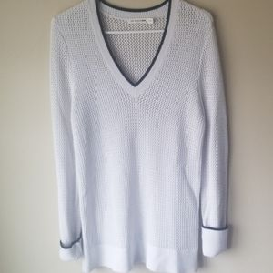 Rag & Bone Plunging V-Neck Loose Knit Sweater